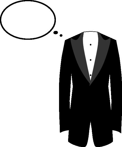 498x599 Tuxedo Clip Art