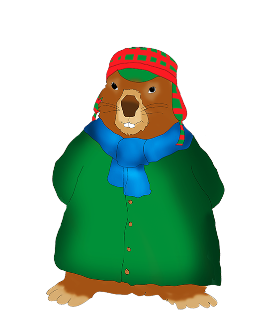 511x630 Groundhog Day Clipart