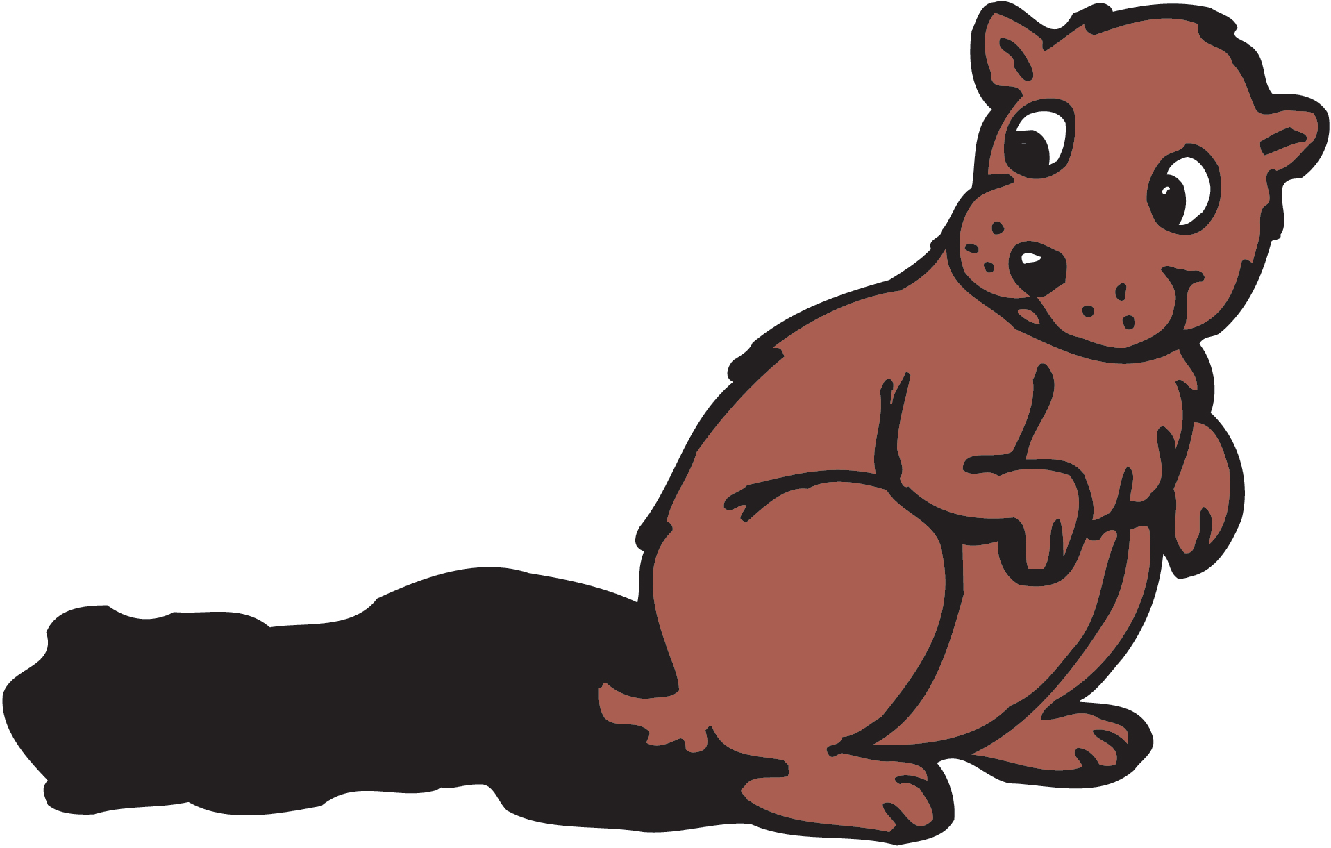 1917x1221 Groundhog Clipart Cartoon