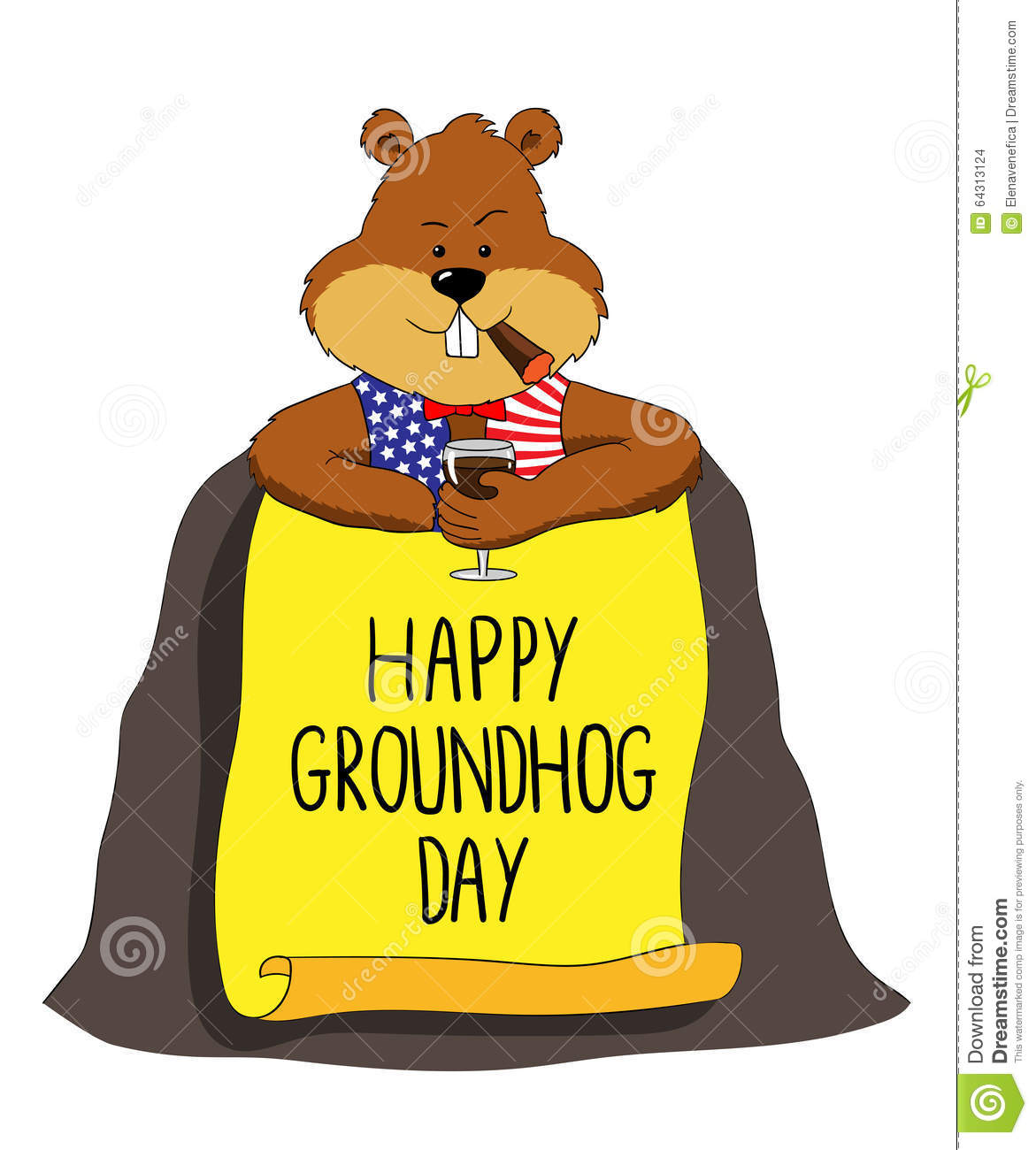 1171x1300 Groundhog Clipart Happy