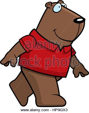 300x382 Groundhog Walking Stock Photo, Royalty Free Image 85763405