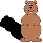 150x150 Free Groundhog Clipart
