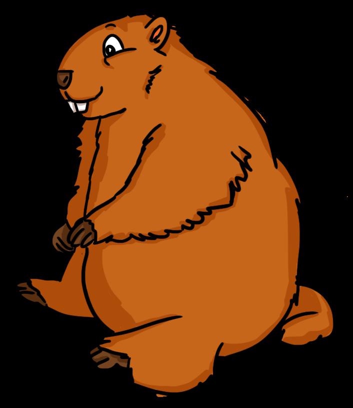 706x815 Free Groundhog Clip Art