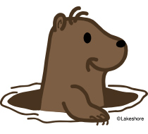 210x190 Groundhog Clip Art