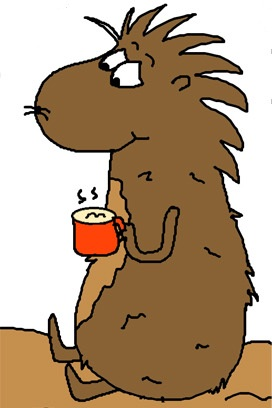 272x408 Groundhog Day Clipart
