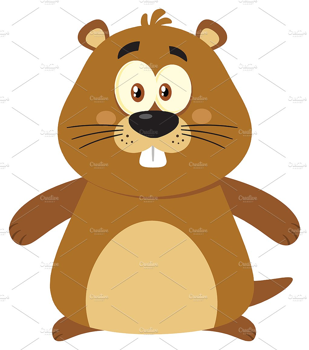 1022x1160 Marmot Clipart Cute