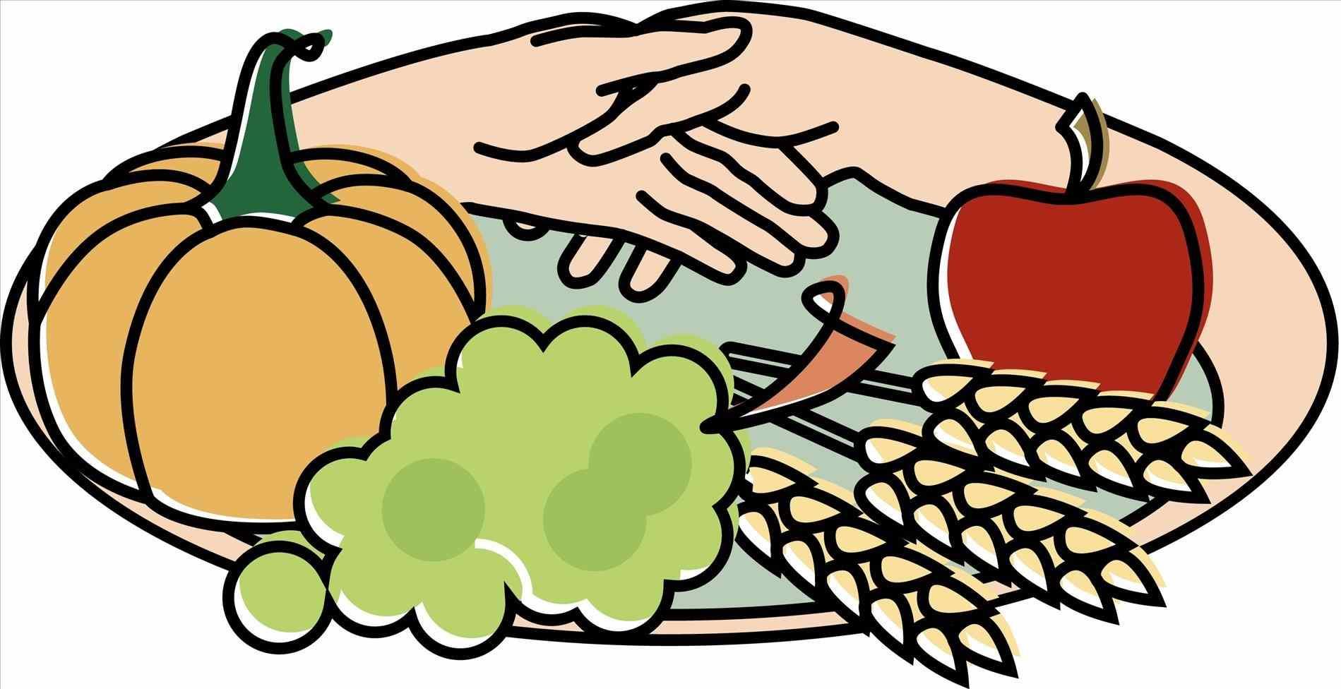 1899x976 Family Thanksgiving Dinner Clipart