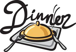 259x179 Group Dinners Clipart 2