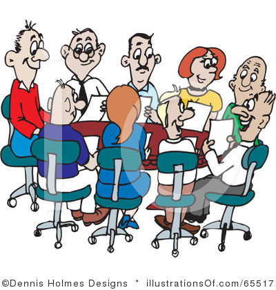 400x420 Meeting Clipart Cartoon