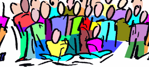 500x224 Meeting Clipart Group