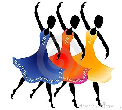 400x360 Friends Dancing Clip Art