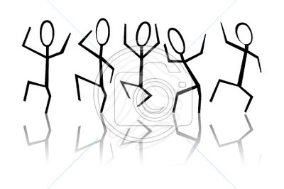 400x266 Group Of Friends Clipart