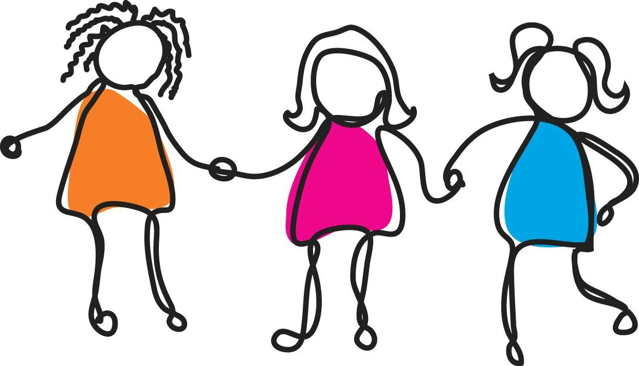 1243x713 Best 15 Group Of Girl Friends Clipart Image