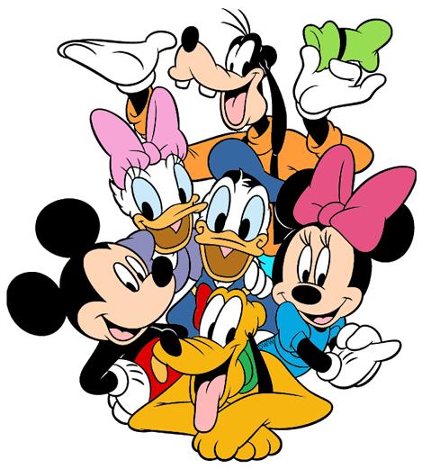 469x521 Mickey Mouse Amp Friends Clip Art Disney Clip Art Galore