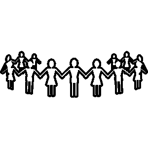 300x300 Church Family And Friends Clipart