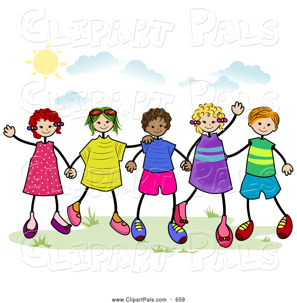 1024x1044 Royalty Free Stock Friend Designs Of Little Girls