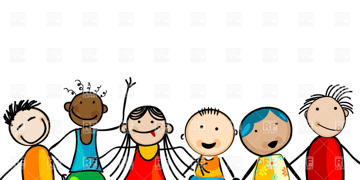 1200x600 Free Clipart Of Kids