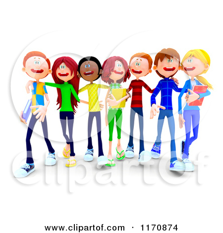 450x470 Group Of Students Clipart Clipart Panda