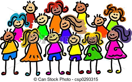 450x281 Group Of Kids Clipart