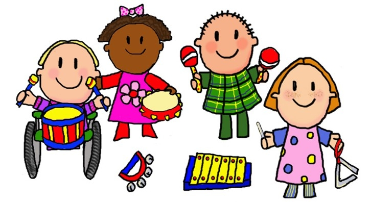 724x396 Children Music Clip Art