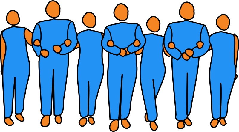 800x444 Free Group Of People Clip Art