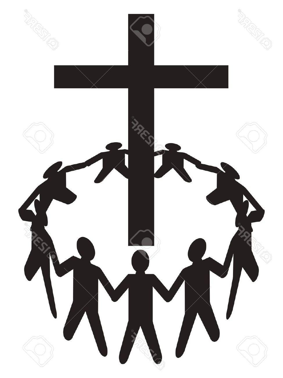 974x1300 Best 15 Praise Clip Art Vector Group Of People Image
