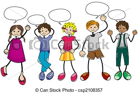 450x304 Group Talking Clipart