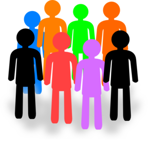 299x288 Clip Art Group Of People Clipart