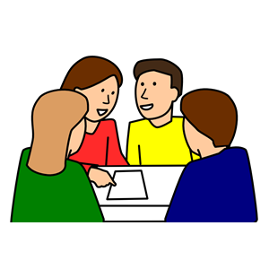 300x300 Students Group Work Clipart, Cliparts Of Students Group Work Free