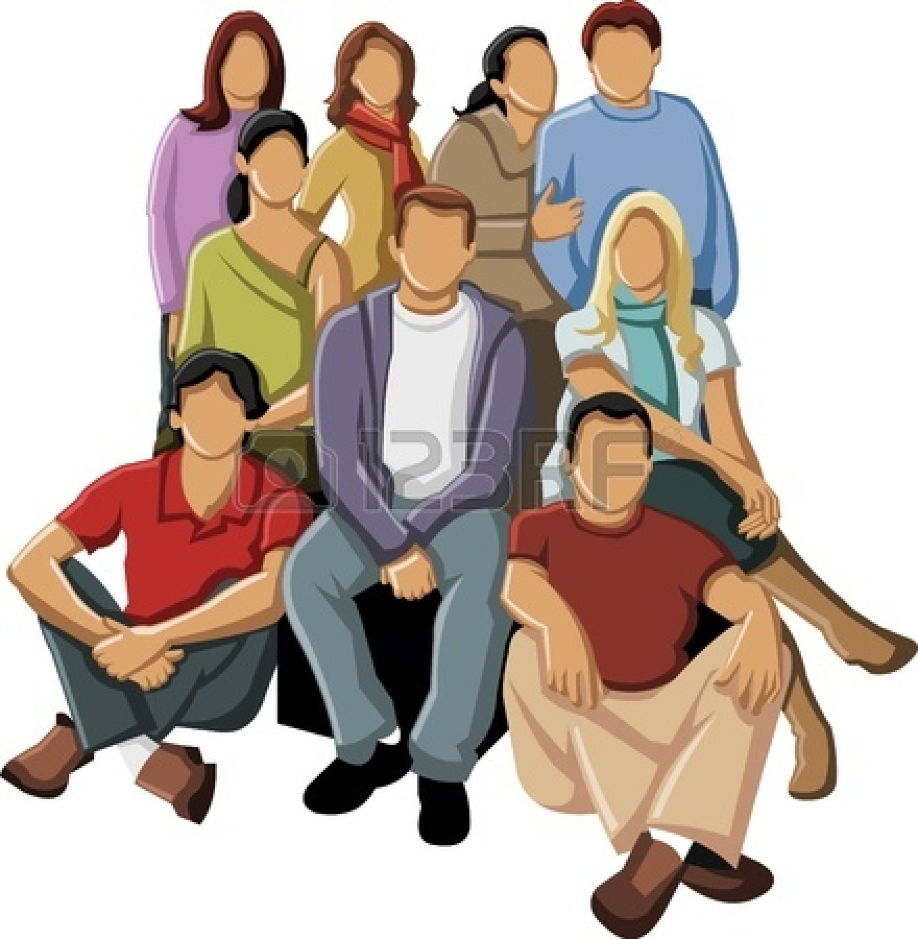 1320x1350 Crowd Clipart Group Person