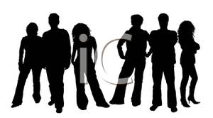 300x166 Groups Of Three People Standing With A White Background
