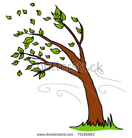 450x470 Growing In The Wind Clipart