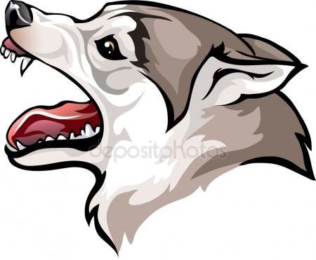 450x371 Dog Growling Stock Vectors, Royalty Free Dog Growling