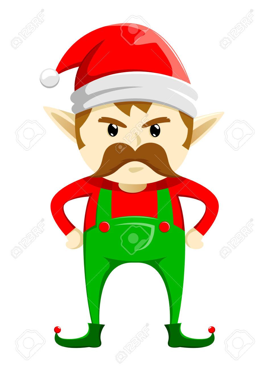 928x1300 Santa clipart grumpy