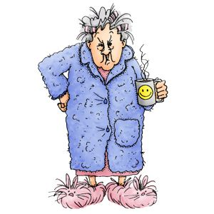 300x300 Old Lady Clipart