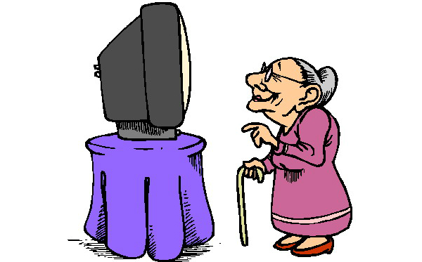 600x373 Old Lady Clipart