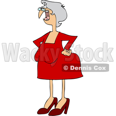 400x400 Clipart Grumpy Old Lady Holding Bouquet Of Daisiesnd