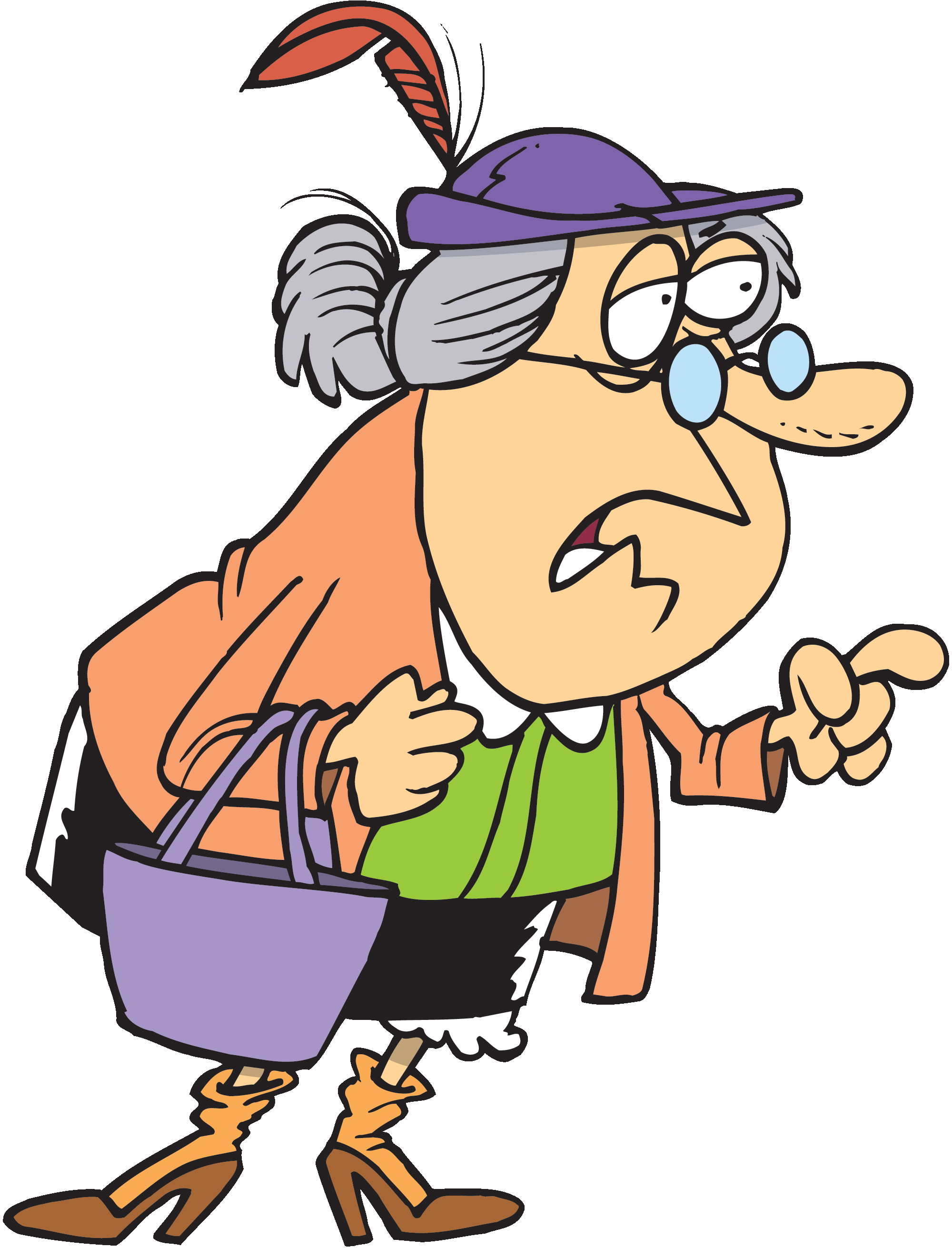 2000x2621 Old Lady Clip Art