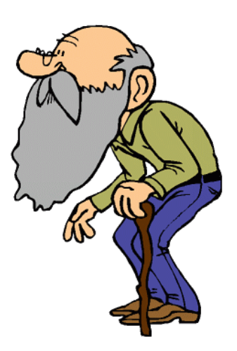 337x500 Old Man Clipart