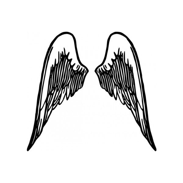 600x600 Best Angel Wings Clip Art Ideas Wings Logo