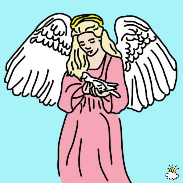 600x600 Learn Your Guardian Angel's Name With These 8 Easy Steps. This Is