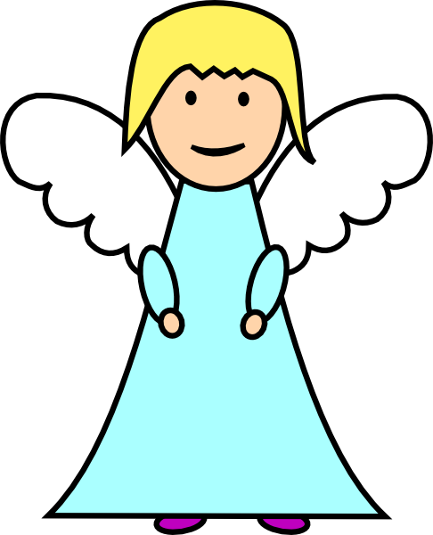 486x600 Clipart Angel Free