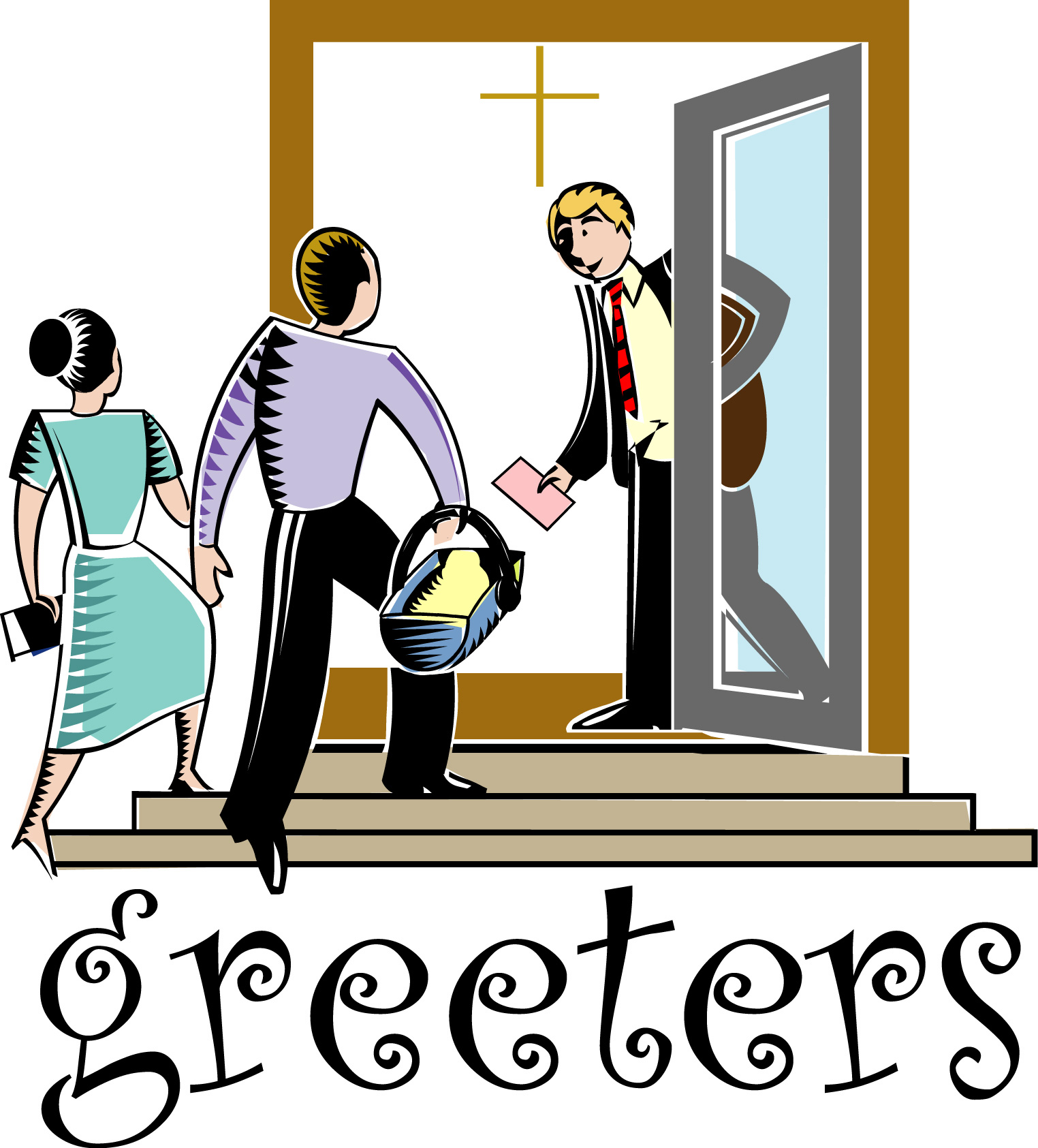 1524x1685 Free Clipart Church Ushers