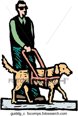 317x470 Clipart Of Guide Dog Guiddg C