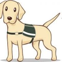 200x200 Guide Dog Clipart