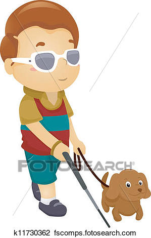 299x470 Guide Dog Clip Art Eps Images. 232 Guide Dog Clipart Vector