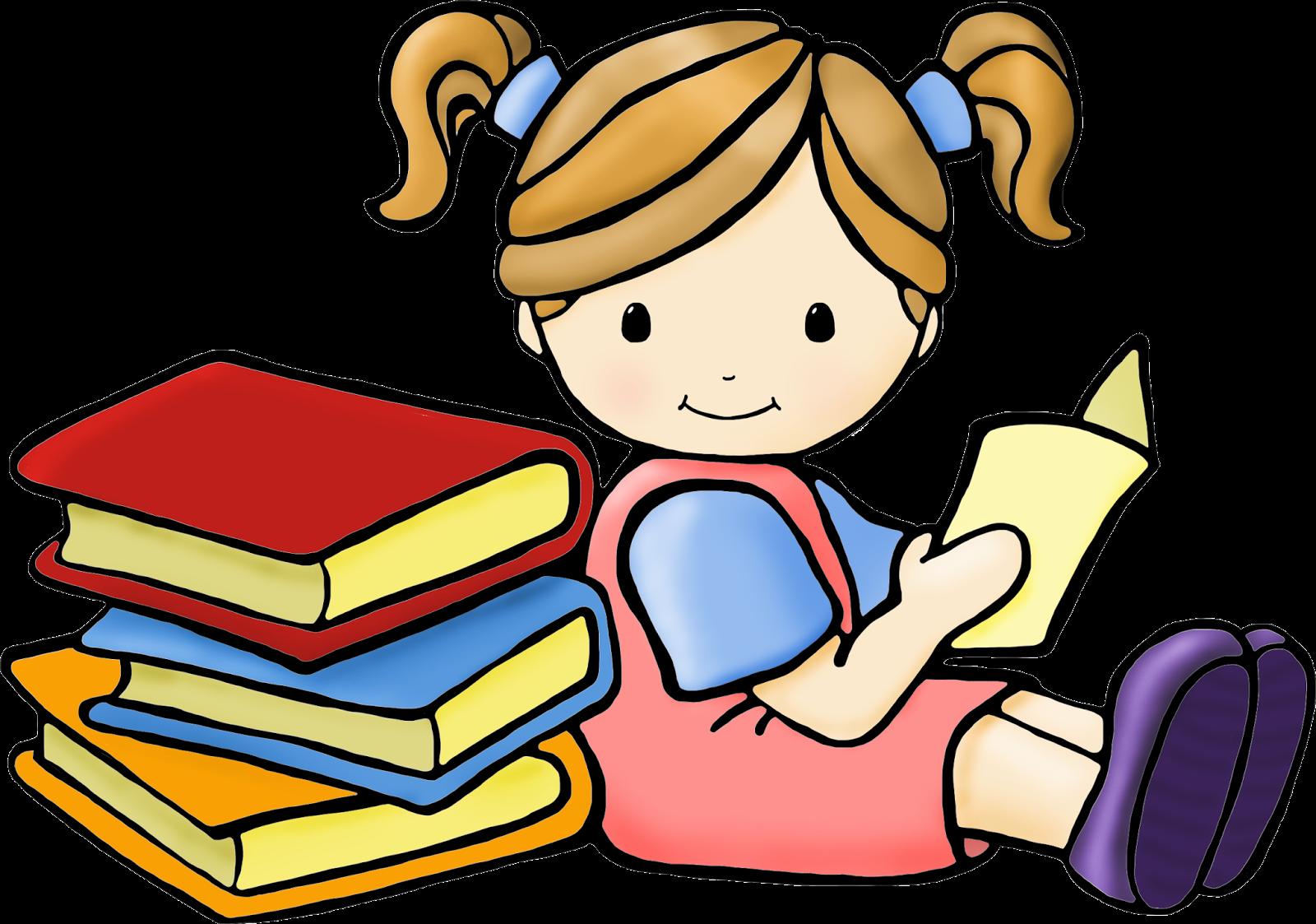 1600x1123 Kids Reading Clip Art