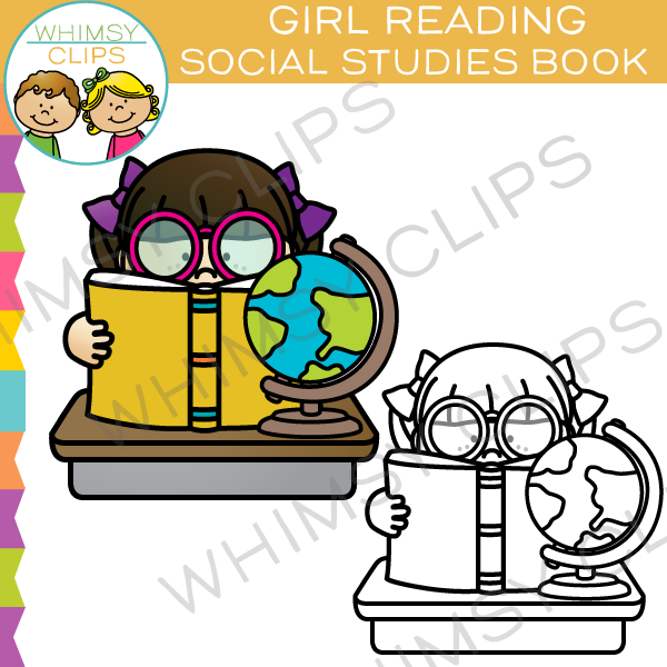 600x600 Reading Clip Art , Images Amp Illustrations Whimsy Clips