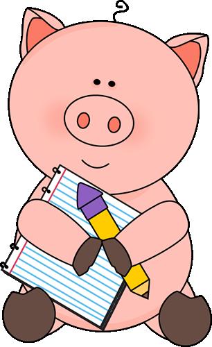 306x500 Free Pig Cliprt From Cliprt, Dibujos
