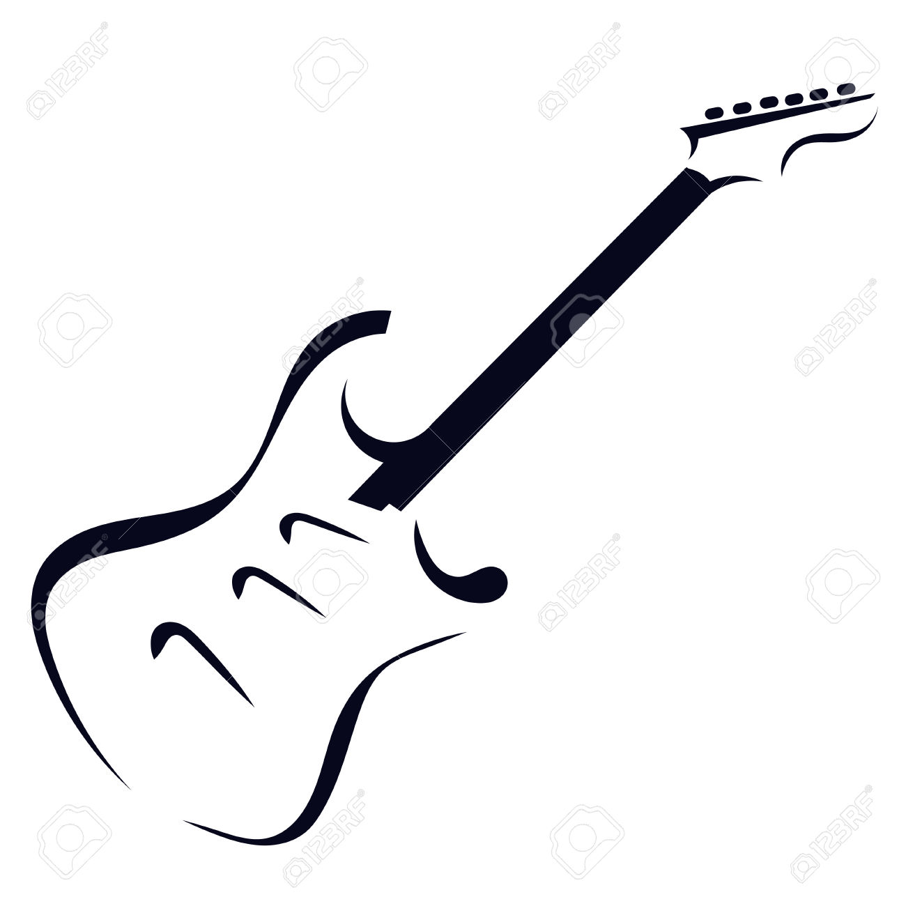 1300x1300 Guitar clipart guitar neck